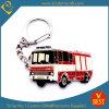 Metal modelo promocional de encargo Keychain/Keyrings del autobús/del coche