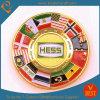 Full su ordinazione Color Flag Soft Enamel Chanllenge Coin per Souvenir