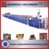 Hölzerne Plastiktür-Panel-Profil-Strangpresßling-Zeile (WPC Vorstand-Maschinerie)