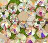 2088 Rhinestone cristalino al por mayor de Hotfix de la parte posterior plana de la calidad del vidrio 5A no (FB-ss10 cristal ab/5A)