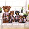 주문을 받아서 만들어진 귀여운 새로운 품목 견면 벨벳 곰 손은 장난감을 만들었다