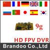 Mini appareil photo portable Fpv DVR pour RC Quadcopter