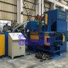 Horizontale Geschwindigkeits-Stahlschnitzel, die Maschine für die Wiederverwertung brikettieren