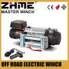 4X4 del torno eléctrico del tambor de cable del camino 12500lbs 4WD con la cuerda de alambre