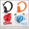 Auriculares estereofónicos prendidos do telefone móvel de Subwoofer da cor dos doces dobradura elegante