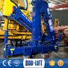 構築機械は小さいトラッククレーンをボブ持ち上げる