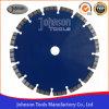Blad van de Zaag van de laser Turbo 230mm voor Steen