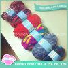 Aparência Luz personalizado tecidos de lã fios de tricô mão