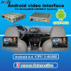 Cadre androïde intrinsèque de navigation de Mirrorlink + surface adjacente visuelle pour Mazda Cx-3, Cx-5, Cx-9, Mx-5 support Facebook/Youtube