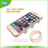 Неровный польностью защитный тонкий панцырь 360 с крышкой случая мобильного телефона Tempered стекла на iPhone 7