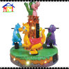 Merry Go Round Dino Carousel Coin Operated Ride Machine