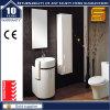 ヨーロッパ式MDFの白いペンキの壁に取り付けられた浴室の家具の虚栄心