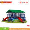 Het hete Verkopen anti-verdwijnt de Trampoline van het Park van de Pret van Kinderen Direct van de Fabriek (HD16-224B) langzaam