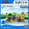 El patio comercial usado colorido más popular resbala los juguetes de la escuela del juego