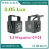 960p 3.6mm lente de la cámara de bóveda del coche Sistema 75 Grado IR 10m Distancia