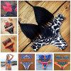 Neuer Form-Frauen-Bikini-gesetzter Retro Badebekleidungs-Badeanzug