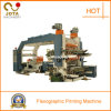 4 colores High Speed Paper Printing Machine con el PLC