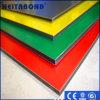 Scheda di A2 PVDF ed uguaglianza di plastica di alluminio del rivestimento
