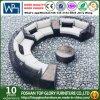 PEの藤の普及した屋外の家具の組合せのソファー(TG-020)
