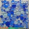 Mattonelle di vetro della piscina del mosaico dei ciottoli degli azzurri (KSL124118)
