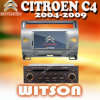 RadioGPS van Witson voor Citroën C4 2004-2012 (W2-D9956CI)