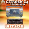 Witson Radio GPS para Citroen C4 2004-2012 (W2-D9956CI)