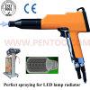 アルミニウムLEDランプのラジエーターのための最新の粉のコーティング銃