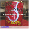 850g Canned Tomato Paste com Easy Open Lid