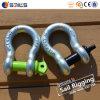 亜鉛によってめっきされた低下は炭素鋼G-209のアンカー手錠を造った