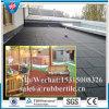 Pavimentadora de goma del azulejo de la seguridad, pavimentadoras recicladas, azulejo de goma del camino del caballo