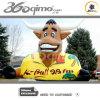 Mascotte par radio de K-Bull gonflable (BMIA296)