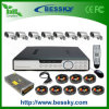 Sistema de segurança impermeável da canaleta DVR do jogo 8 da câmera do CCTV (BE-9608H8RI)