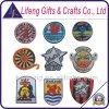 Custom barato Patches com Woven Logo para Clothing