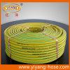 Boyau de jardin tressé de PVC de fil flexible, boyau de arrosage, GV