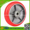 Buenas ruedas del arrabio de la PU del rodamiento de bolitas de balanceo (SGS, ISO)