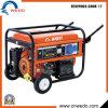 geradores da gasolina de 6.0-7.0kw 15HP 4-Stroke com rodas e punho