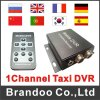 1 canaleta SD Card DVR para Car Bus e Taxi, Mobile DVR, D1 Realtime Recorder