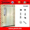 Puertas deslizantes del cuarto de baño del acero inoxidable (YK-A007)
