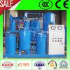 Machine de filtrage d'huile de lubrification de vide de la Chine, traitement d'huile