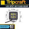 16W CREE LED Work Light voor 4WD 4X4 van Road Lamp Truck