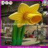 Flor inflável ereta quente para a decoração do evento