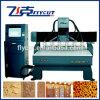 Máquina de gravura elevada do CNC do Woodworking de Effciency de 6 eixos
