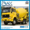 Pump Self Loading Concrete Mixer TruckのShacman 6X4 Concrete Transport Truck