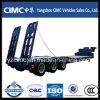 Cimc 3つの車軸低いベッドのトレーラー、低い半ベッドのトレーラー、低いベッドのトラックのトレーラー