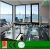 De het goedkope Aluminium van de Prijs/Deur van de Gordijnstof van het Aluminium met Glas (PNOC0012CMD)