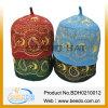 Sombrero hecho a mano del bordado del rezo musulmán del fieltro de las lanas del 100%