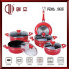10PCS Induction Hotel Look Cookware