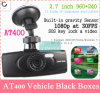 2014 pleins HD1080p At400 Car DVR 2.7 Inch avec Ntk96650 Ar0330 + WDR + 148 Degree Wide Angle Lens + Night Vision DVR