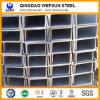 Canal de la correa de Q235 U para la estructura de acero