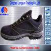 身につけられるスエードの革倍密度PUの方法安全Shoes/Footwear (GWPU-1006)